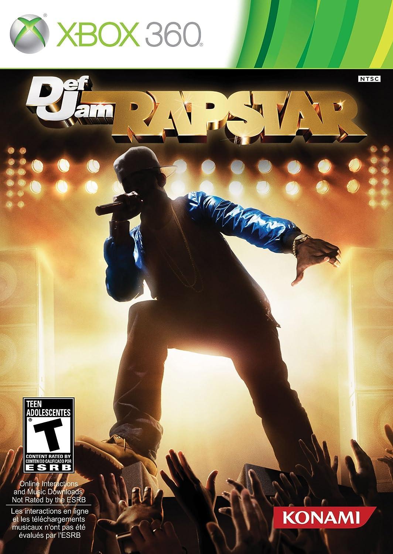 Amazon com: Def Jam Rapstar: Xbox 360: Konami of America: Video Games