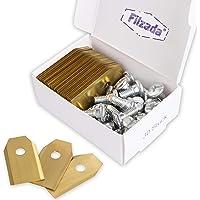 Filzada® 30x Cuchillas de corte de titanio - LARGA VIDA adecuada para Husqvarna® / Gardena® - cuchillas de recambio para…