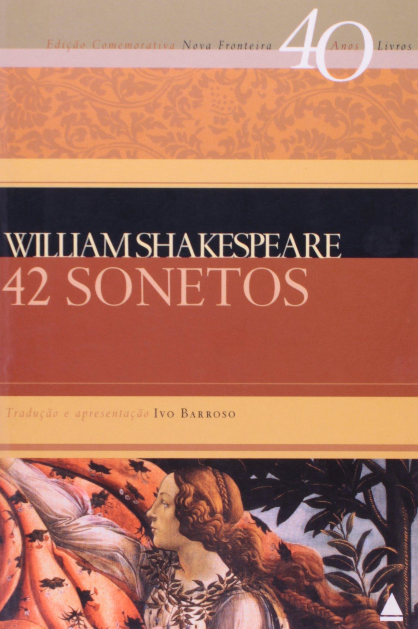 Resultado de imagem para william shakespeare 42 sonetos
