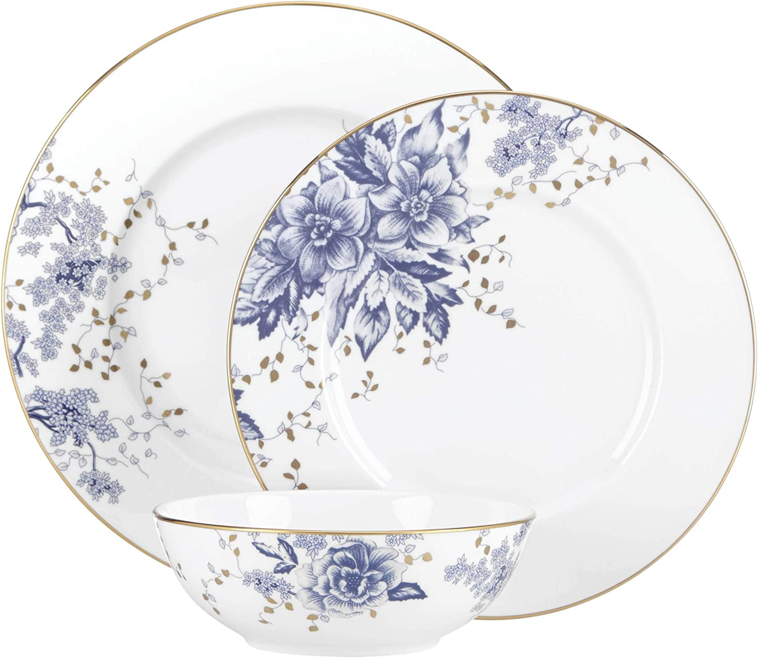 Lenox Garden Grove 3-piece Place Setting, 3.80 LB, Blue