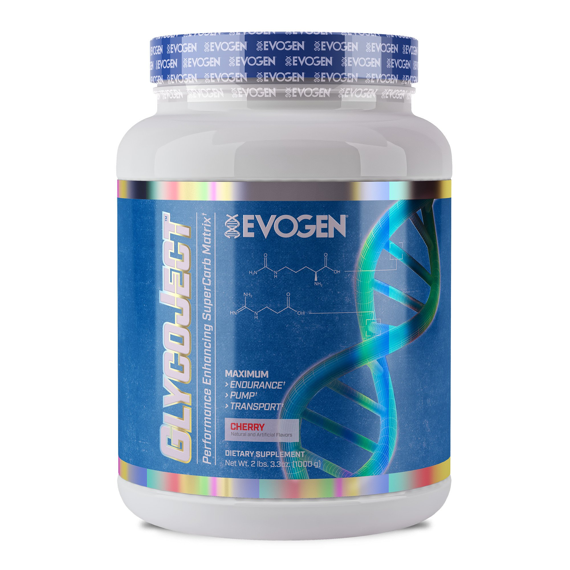 Evogen GlycoJect | Extreme Karbolyn® Carbohydrate Powder | Cherry | 36 servings ...