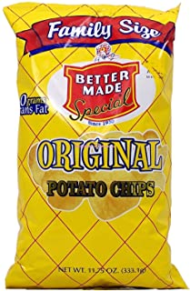 product image for Better Made original potato chips, 11-oz. family size bag