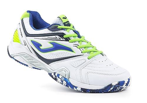 JOMA T.Match 602 Clay Blanco, Zapatillas de Tenis para Hombre: Amazon.es: Zapatos y complementos