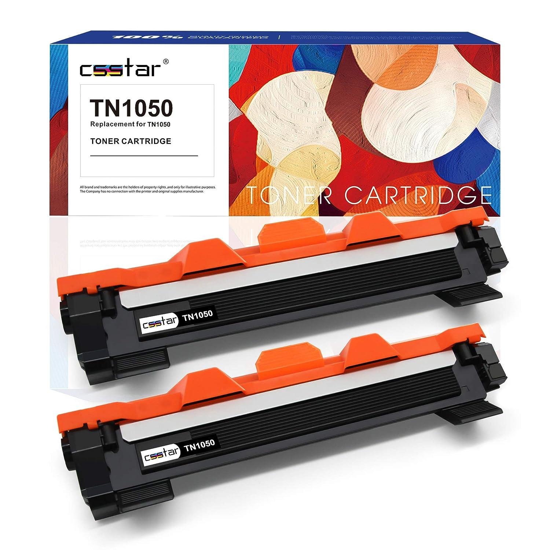 Nero Ciano Magenta Giallo CSSTAR Compatibile Cartuccia di toner per Brother TN1050 TN1030 per HL-1210W HL-1110 MFC-1910W HL-1212W MFC-1810 DCP-1610W DCP-1510 DCP-1612W DCP-1512 Stampante