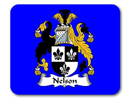 Amazon com : Nelson Coat of Arms/Nelson Family Crest