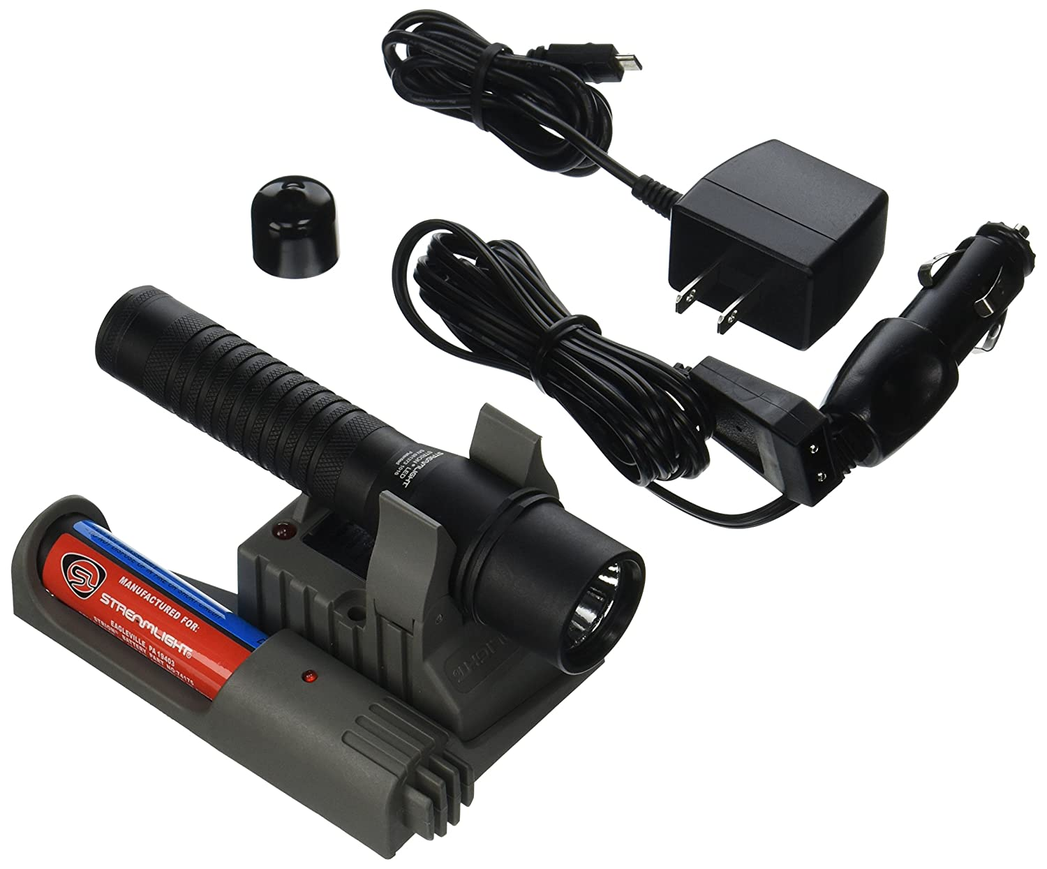 Streamlight 74353 Strion Led With 120v Ac 12v Dc Piggyback Charger Circuit Construction Kit Acdc Virtual Lab From The Options Menu Black 260 Lumens