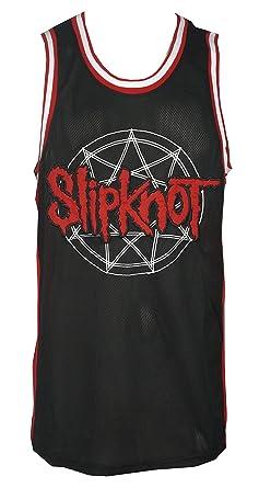 92e397dffd4 Slipknot Men's Elevated Logo Jersey Tank Top Shirt Black at Amazon ...