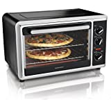 Hamilton Beach 31105HB Countertop Oven with Silver, Black