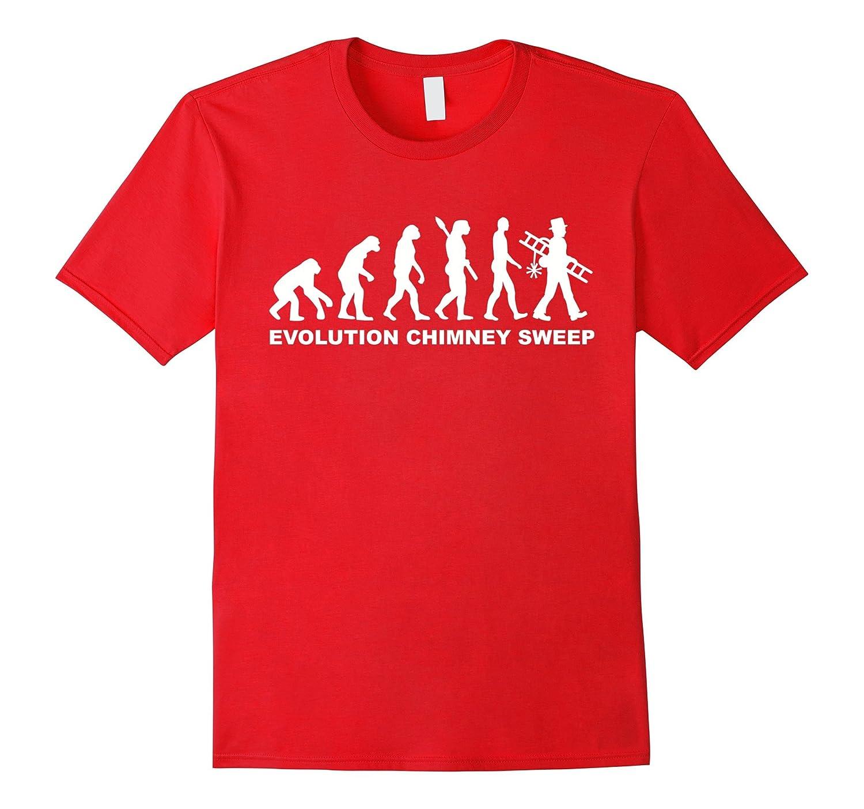 Evolution chimney sweep T-Shirt-TD