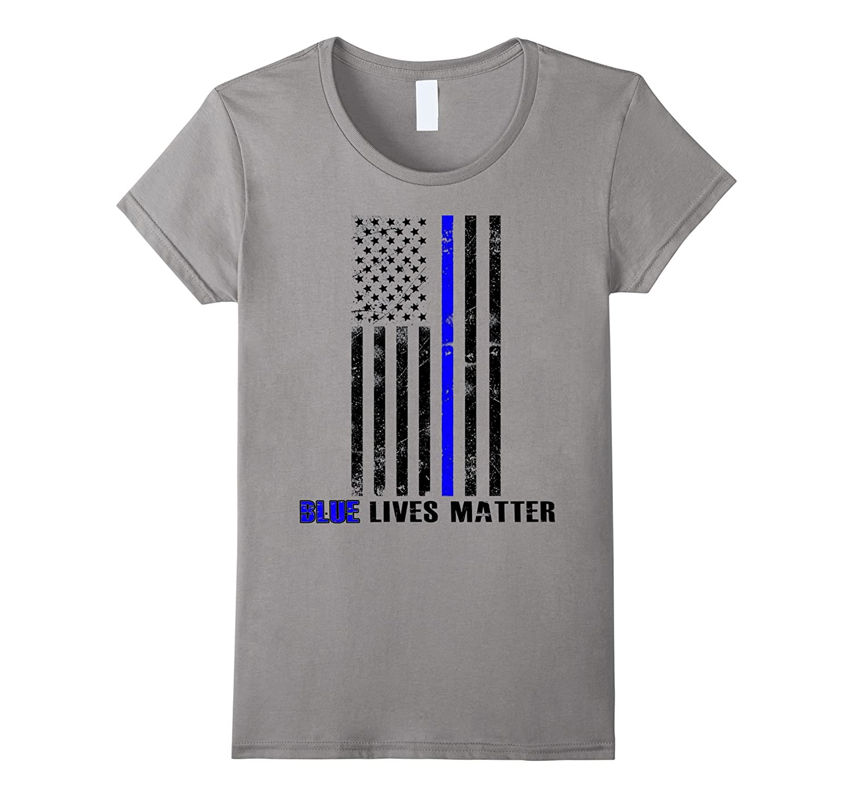 Blue lives matter Thin Blue Line Shirt Support Police