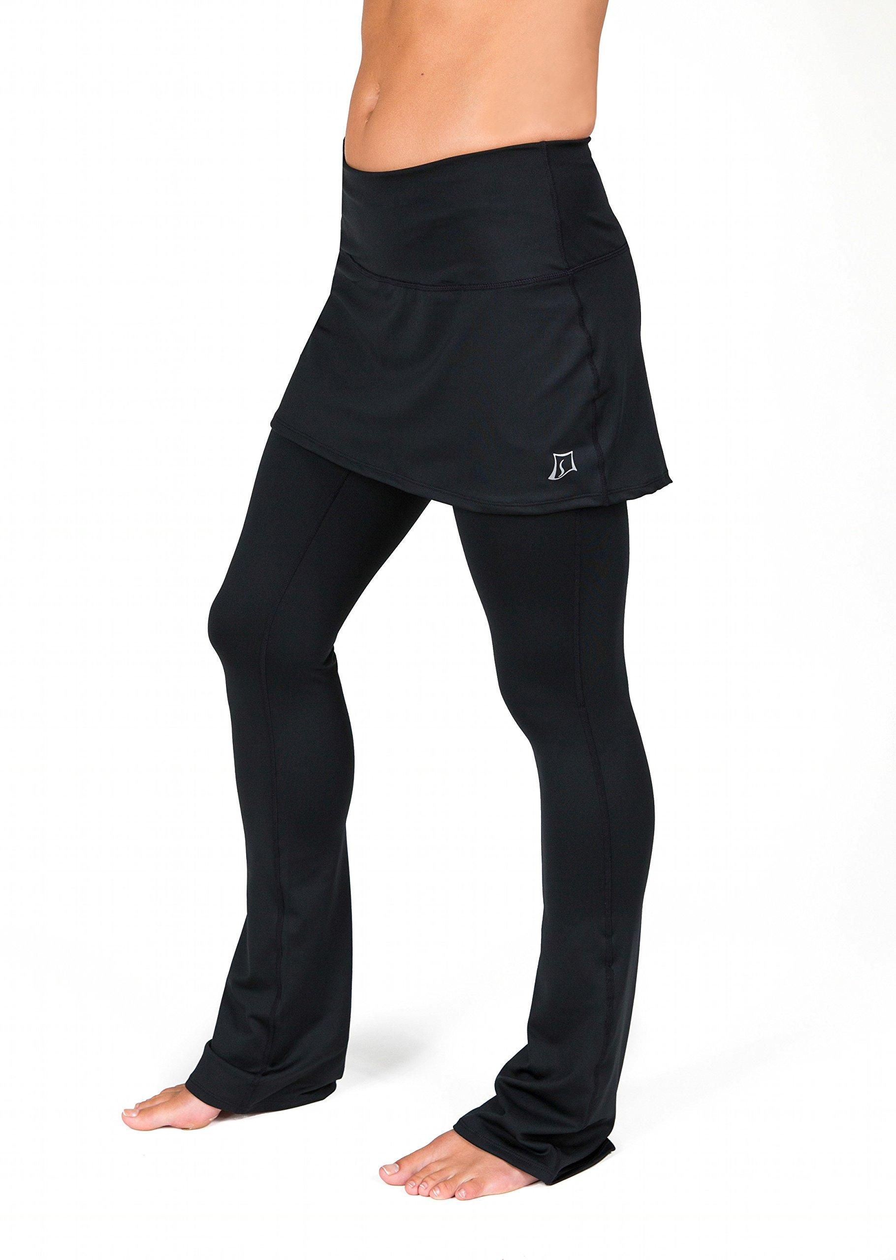 Skirt Sports Women's Tough Girl Skirt, Black, XX-Large Long