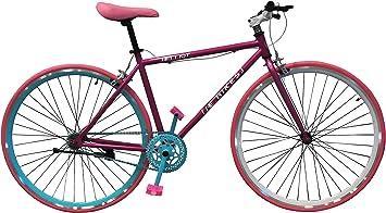 Helliot Bikes Fixie Brooklyn H35 Bicicleta Urbana, Unisex Adulto ...