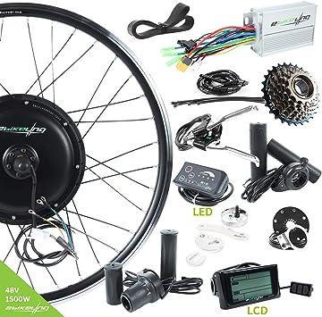 EBIKELING - Kit de conversión de Bicicleta eléctrica (48 V, 1500 W ...
