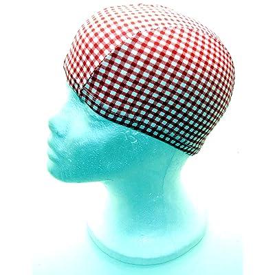 Tissu stretch fantaisie–Bonnet de bain–Bonnet de bain–Bonnet de douche–Taille Unique–Style 123