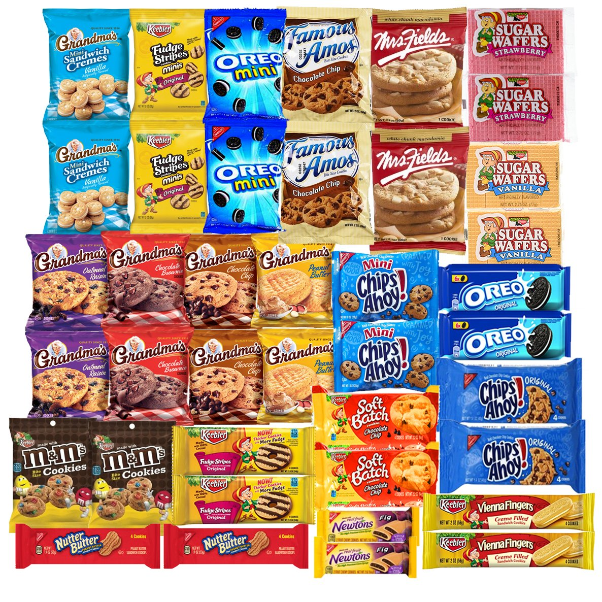 Amazon.com: Cookies Variety Pack Individually Wrapped Assortment ...