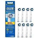 Oral-B - Precision Clean EB20 pour Brosses à Dents Electriques - Pack de 8 Brossettes