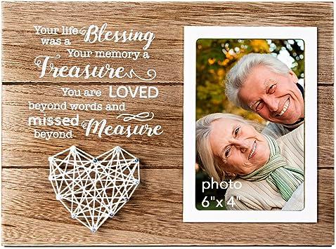 "MEMORIAL PHOTO MOUNT FOR 10/""x8/"" FRAME//PHOTO 5/""x3.5/"" VERSE FOR GRANDAD OR GRANDMA"