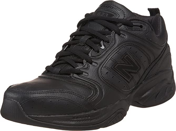 New Balance Men's MX623AB, Black, 16 4E
