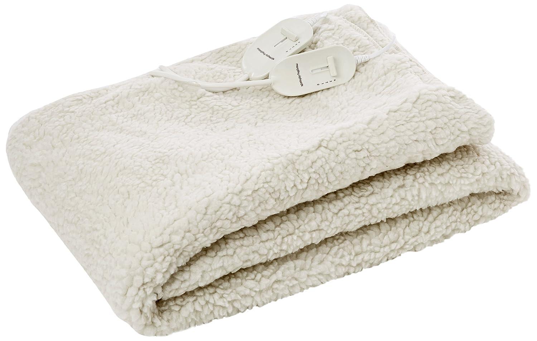 Morphy Richards 600011 waschbare Heizdecke, Einzelbettgröße, 4 Wäremstufen, weiß, Polyester, weiß, King Dual