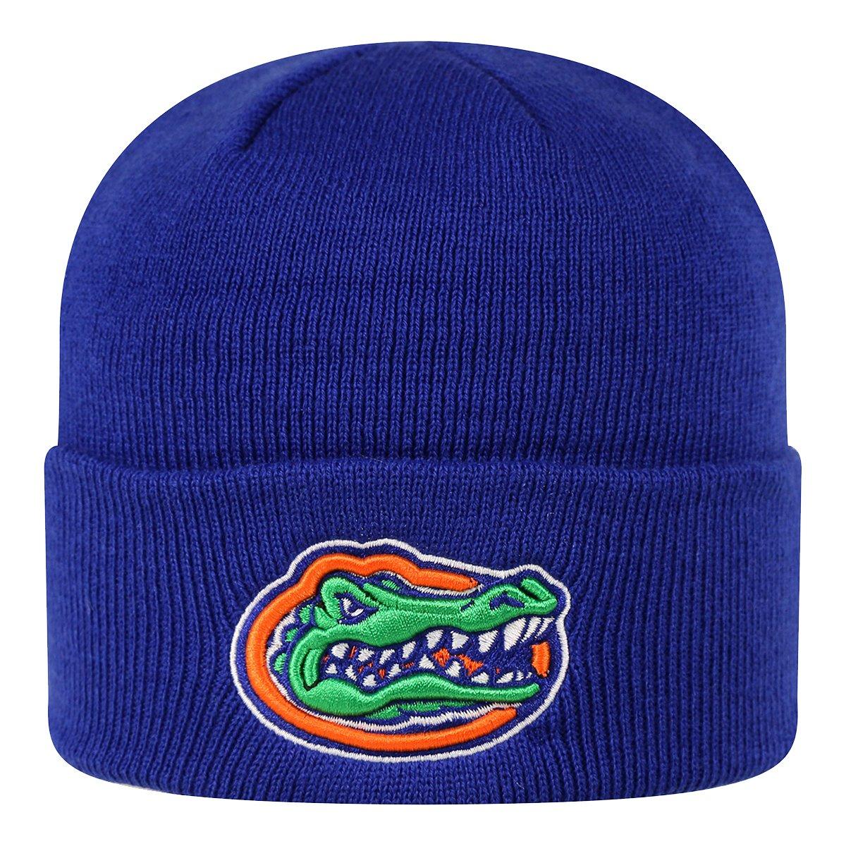 Top of the World 2-Sided Cuffed Beanie Hat NCAA EZ DOZIT Cuff Knit Toque Cap