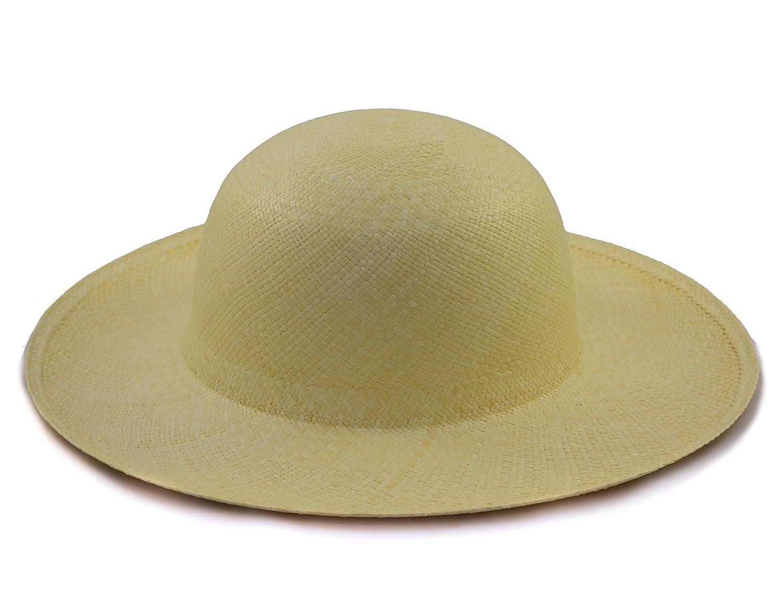 Tumia Panama Hats Women s Sun Panama Hat Rollable Foldable at Amazon Women s  Clothing store  f967dd9cf8a