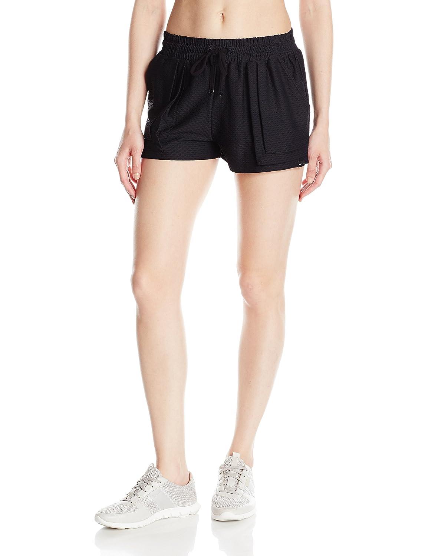 Black Koral Womens Lasso Shorts Short