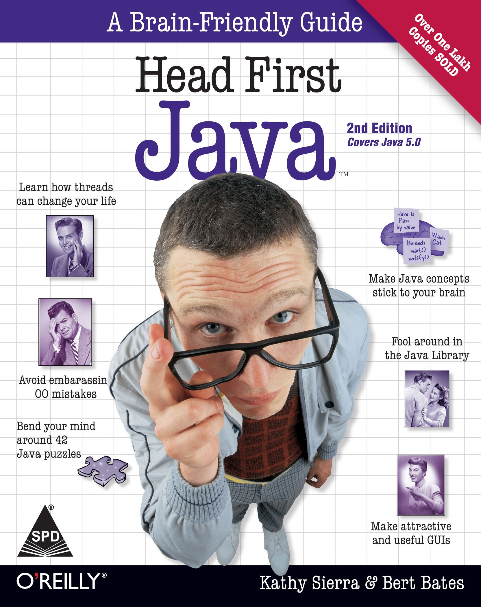 Buy Head First Java: A Brain-Friendly Guide, 2nd Edition (Covers