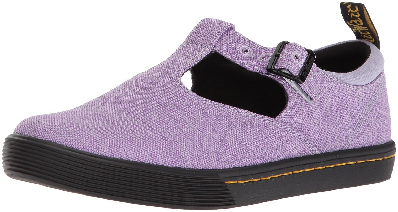 Dr. Martens Women's Winona Mary Jane Flat B071K8J59G 6 Medium UK (8 US) Purple Heather Woven Textile+fine Canvas