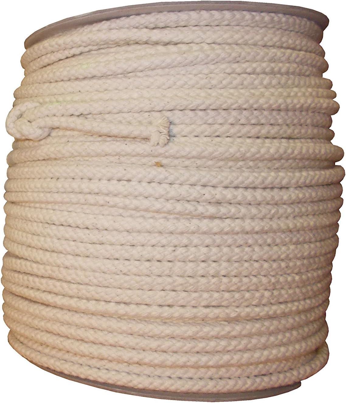 100/% naturel 8/Strand Corde en coton 6/mm 20/metres
