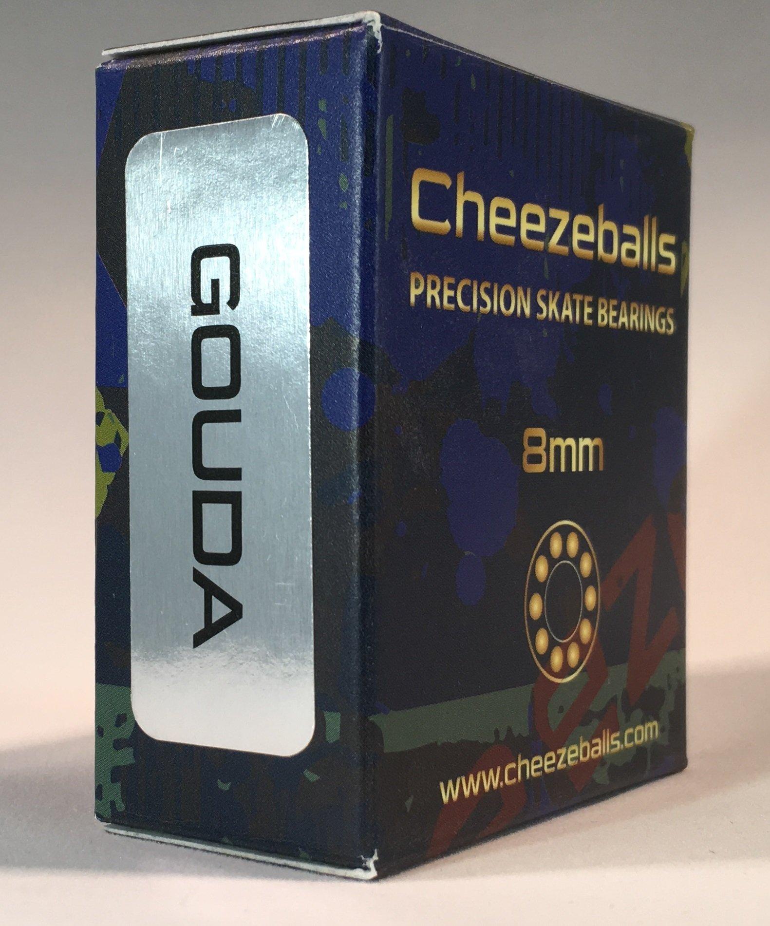 Cheezeballs Gouda Skate Bearings 8mm by Cheezeballs
