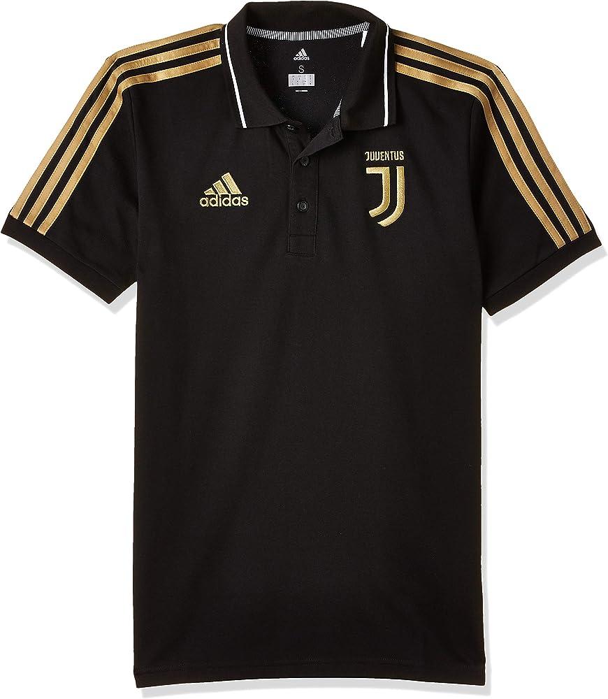 adidas JUVE Polo Shirt, Hombre, Black, S: Amazon.es: Ropa y accesorios