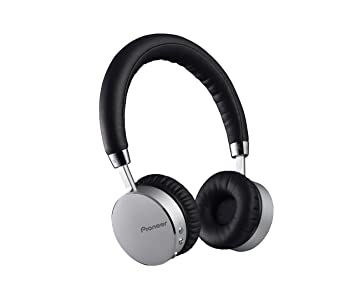 pioneer bluetooth headphones. pioneer se-mj561bt-s bluetooth wireless headphones with nfc connectivity - black/silver i