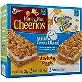 Milk N Cereal Bars 6 Bars Variety Pack 9 oz