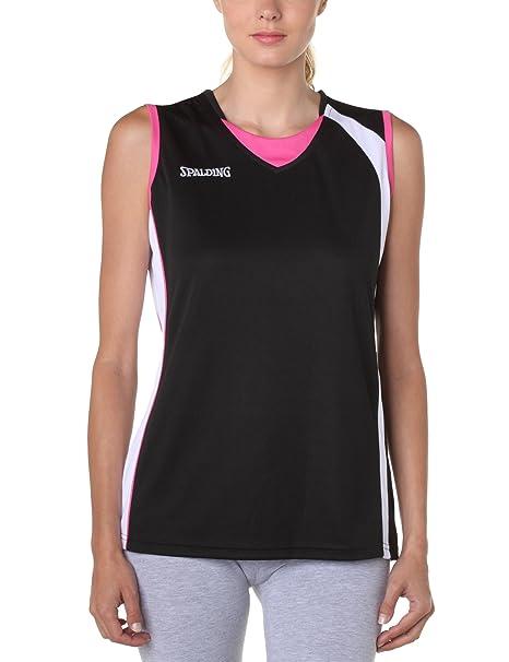 Spalding - Camiseta de Baloncesto para Mujer: Amazon.es ...