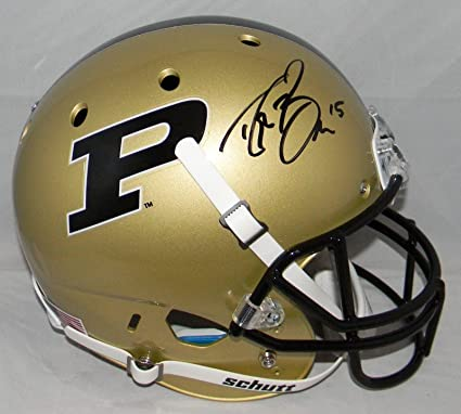 Image Unavailable. Image not available for. Color  Drew Brees Autographed  Signed Purdue Boilermakers ... 04475fa05