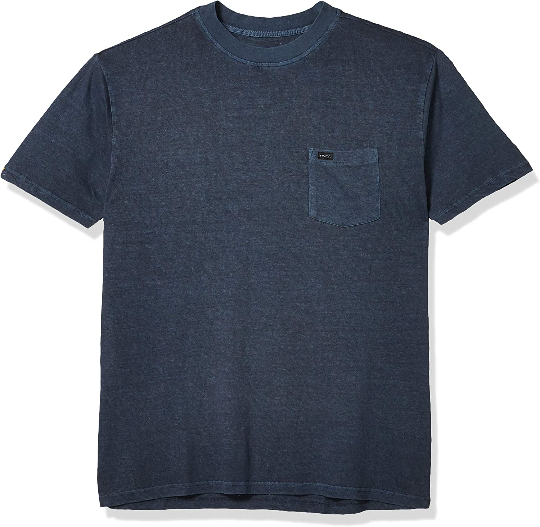 RVCA Mens Harmonia Hemp KniT-Shirt