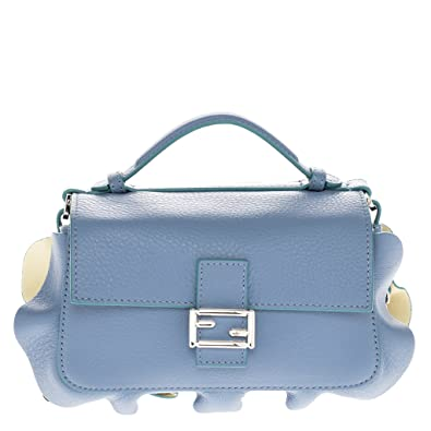 d09b063f26 Fendi Women's Fashion Show 'Double Micro Baguette' Multi-Contrast ...
