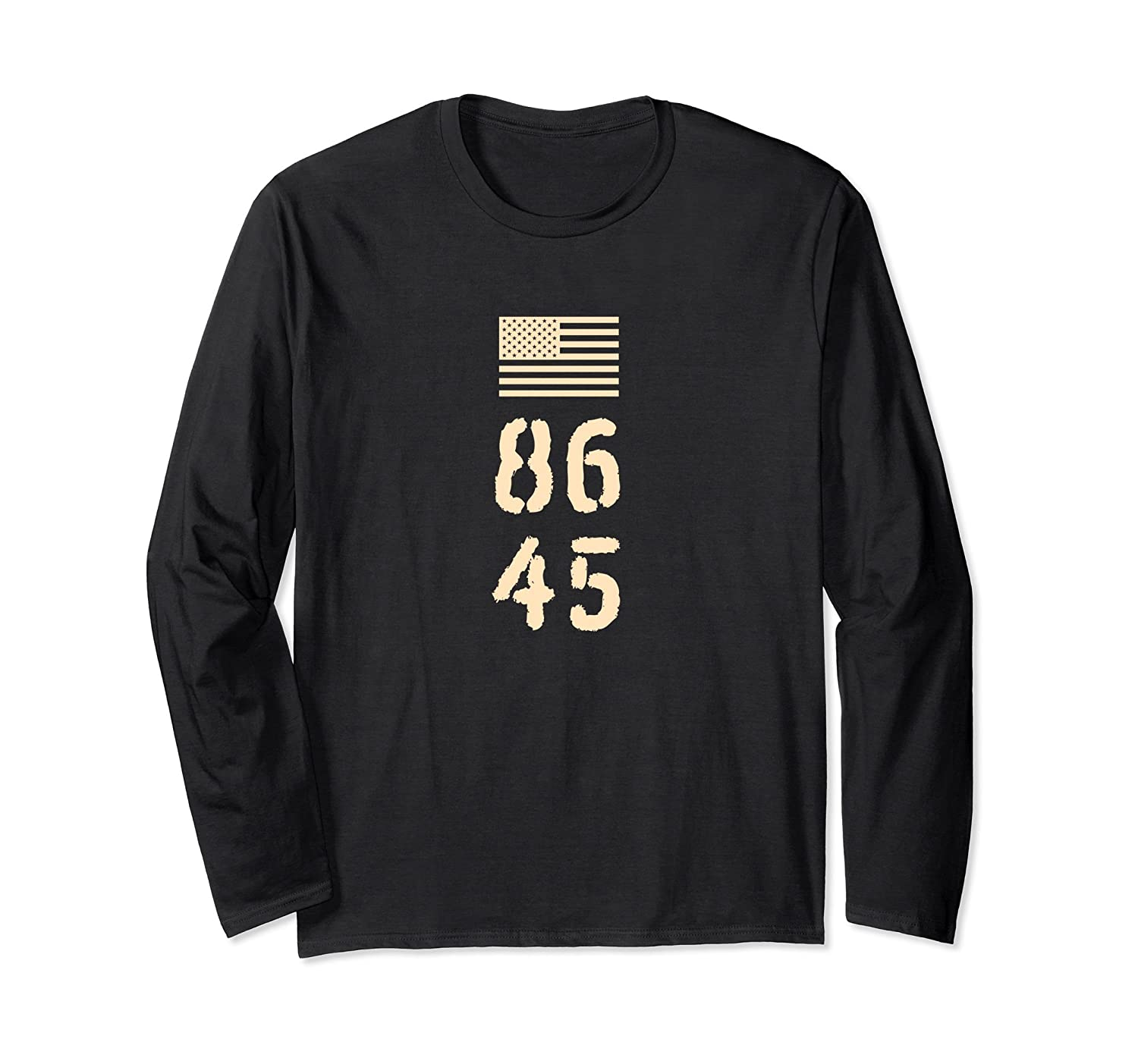 8645 T Shirt Military Style Protest Impeach Gift-mt