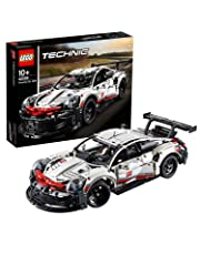 LEGO Technic Porsche 911 RSR 42096 Playset Model, Car Toy for 9+ Year Old Boys and Girls, 2019