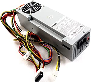 Genuine Dell P2721 3N200 160W Power Supply PSU Power Brick, For OptiPlex GX60, GX240, GX260, GX270 Dimension 2400c, 4500C, 4600C, Small Form Factor (SFF) Systems, Interchangeable Dell Parts: P2721 3Y147 3N200 P0813 7E220 Compatible Model Numbers: HP-L161NF3P, PS-5161-7D, PS-5161-1D1, PS-5161-1D1S