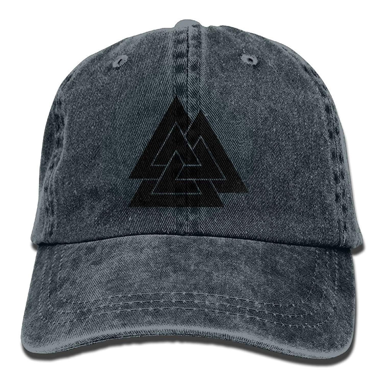 Fashion boutique clothing Valknut Viking Age Symbol Norse Warrior Unisex Adult Adjustable Baseball Dad Hat