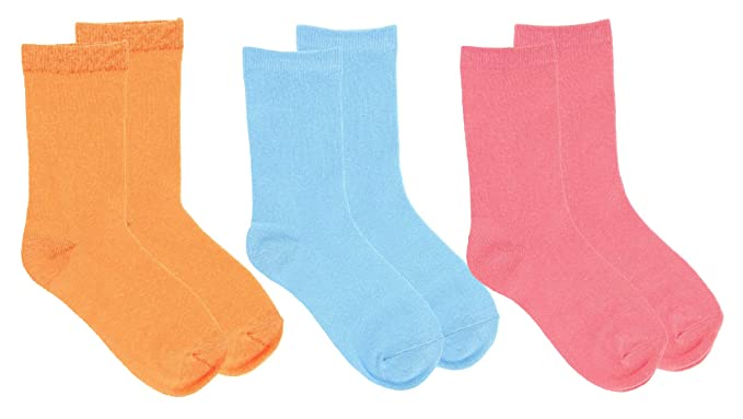 PRAGA - Pack de 6 pares de Calcetines Niño de Colores Surtidos T/26-