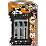 PUNTAS PZ Y PORTAPUNTAS MAGNETICO MAGNET DRIVER® B33, atornilla con una sola mano con las herramientas de este blister que contiene 3 puntas PZ y 3 magnet driver sujeta tornillos
