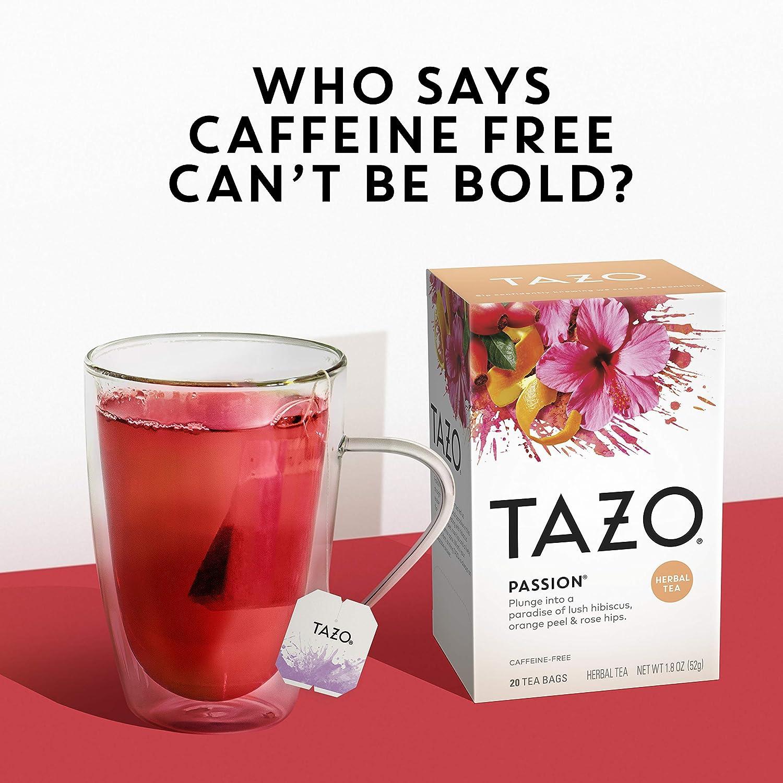 Tazo Tea, Passion Tea, Tea Bags, 20 ct