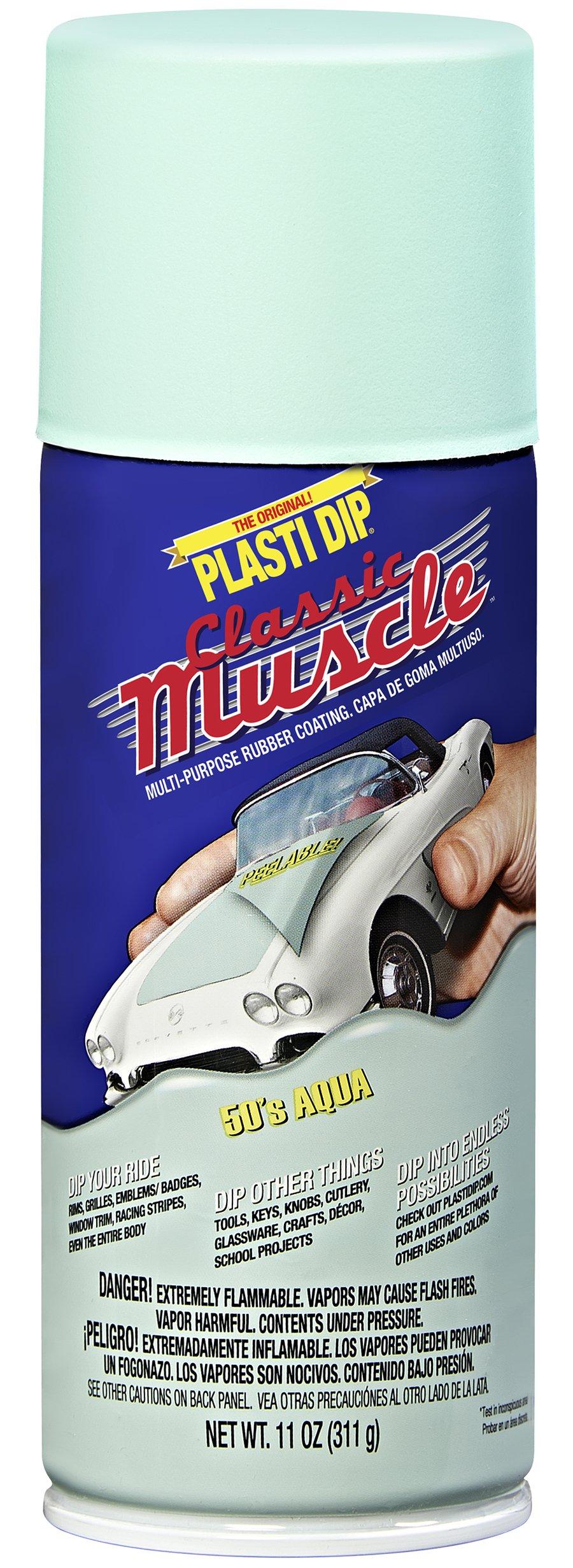 Performix 11303 50's Aqua Classic Muscle Car Rubber Coating, 11 oz