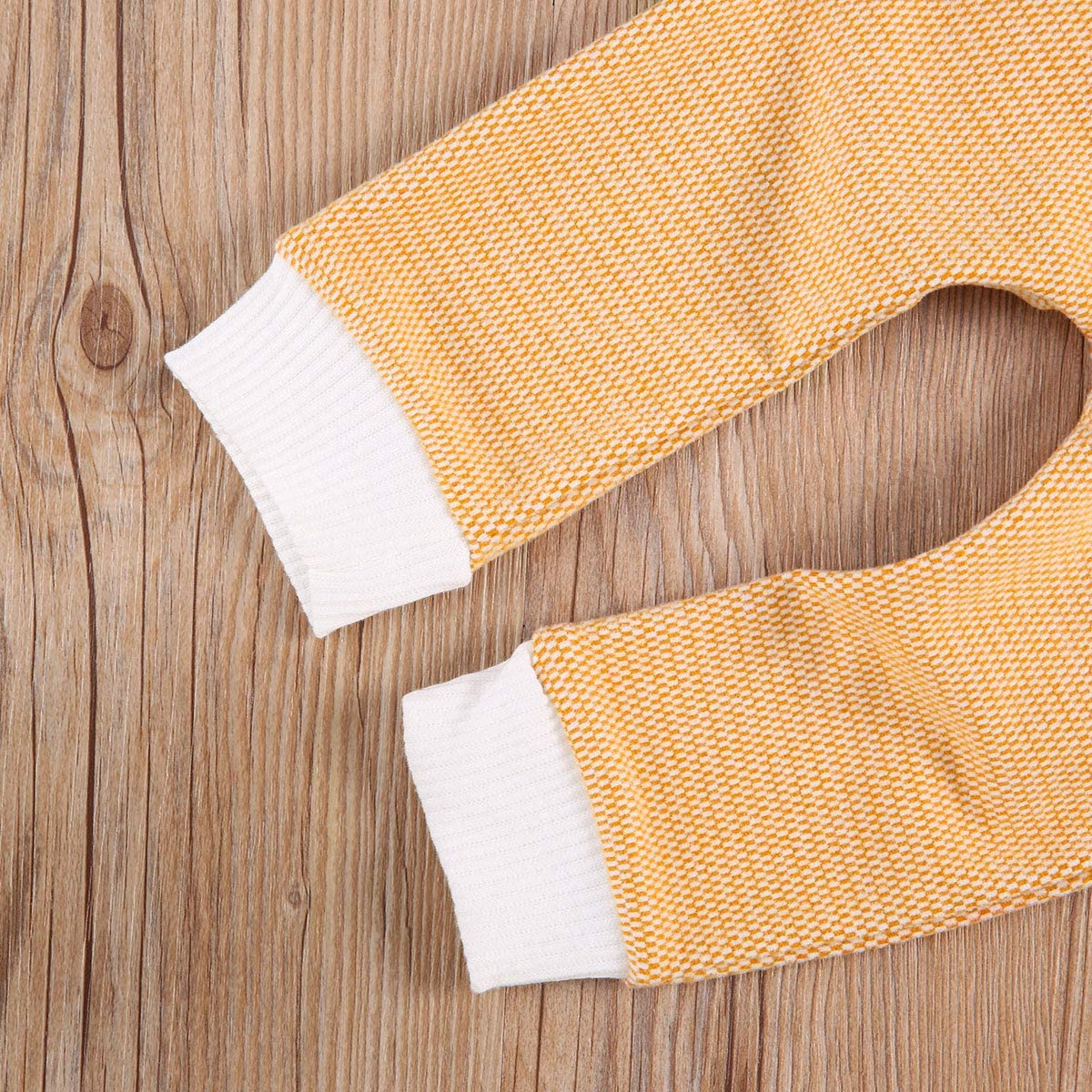 Long Sleeve Tops /& Pants 2 Piece PJ Set Organic Cotton Clothing Set for Infant Baby Boys Girls Baby Unisex Pajamas
