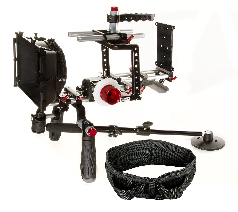 形状Blackmagic Cinema Camera Shoulder Mountオフセットバンドル   B01BOU77W8