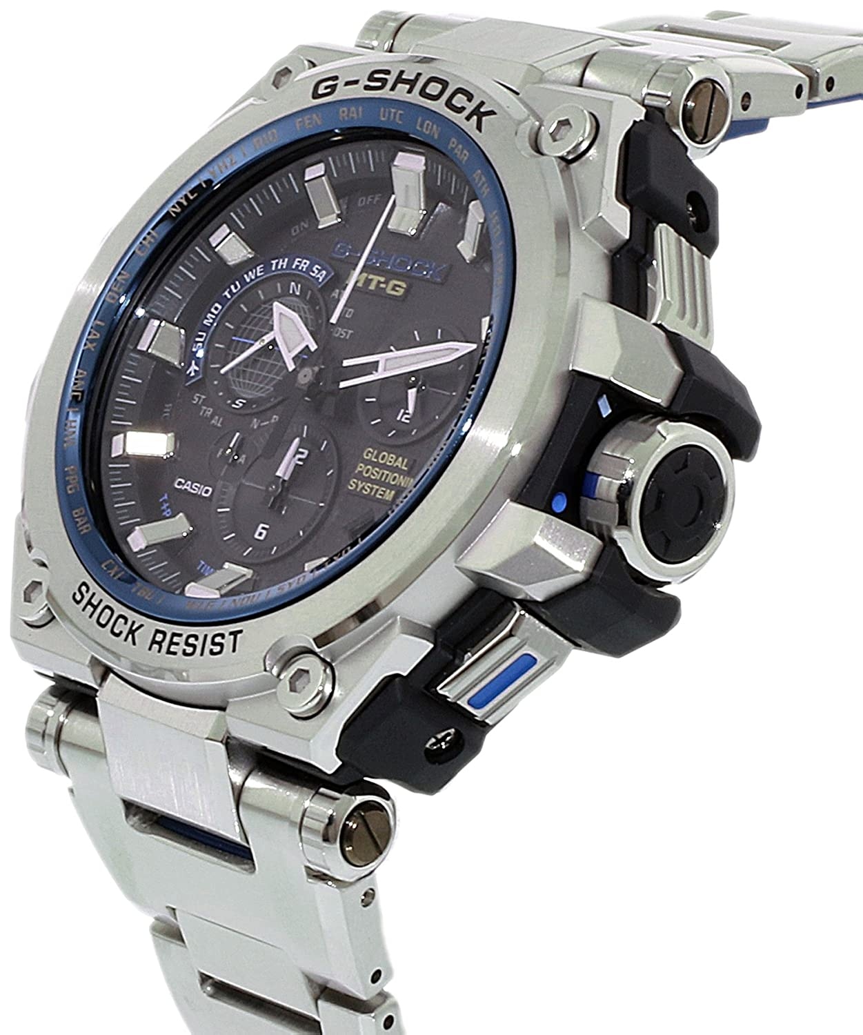 Promo Gshock Mtgg1000d Premium Mtg And Casio T G Shock S1000d 1a4 Sapphire Crystal Amazoncom Mens Mt Stainless Steel Resin Watch Watches