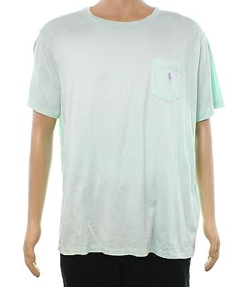 46cc02920ab6 Polo Ralph Lauren Men s Short Sleeve Crewneck Pocket Tee (XL ...