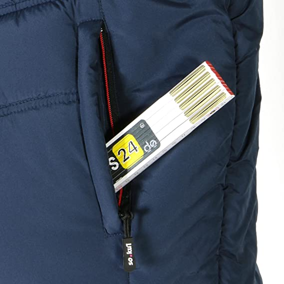 XL Bekleidung & Schutzausrüstung Steppweste Jersey marine-rot Gr